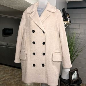 Coach Wool Blend Jacket Size Small